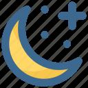 christmas, crescent, decoration, moon, stars