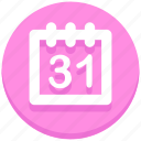 calendar, christmas, day, event, holiday icon