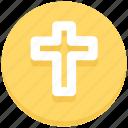 christian, christmas, cross sign, religion icon
