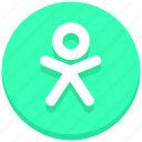 candy, christmas, cookie, gingerbread, man icon