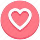 christmas, favorite, heart, like, love icon
