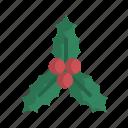 christmas, decoration, holly, ornament, xmas
