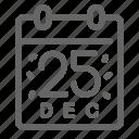 calendar, christmas, holiday, winter, xmas