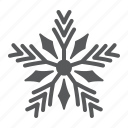 ice, christmas, merry, cold, snow, frost, snowflake icon