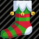 clothes, christmas, fashion, sock