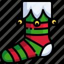 clothes, sock, christmas, fashion