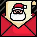 card, celebration, greeting, happy, xmas, claus, santa