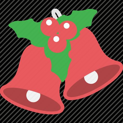 bell, celebration, christmas, decoration, winter, xmas icon