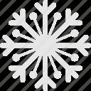 christmas, cold, flake, snow, winter