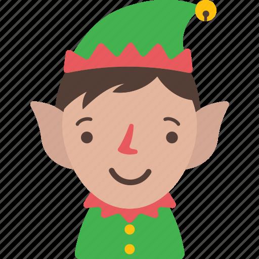 christmas, dwarfs, elf, holiday, santa, xmas icon
