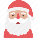 christmas, claus, present, santa, xmas icon