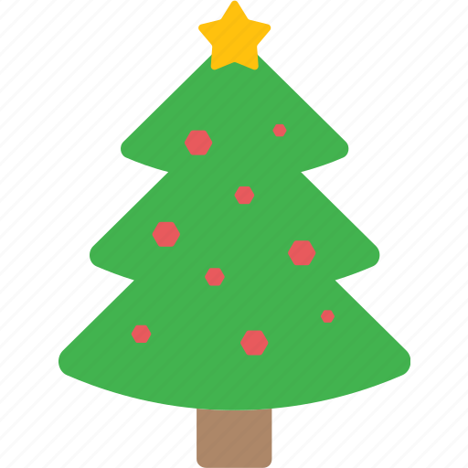 celebration, christmas, decoration, tree, xmas icon