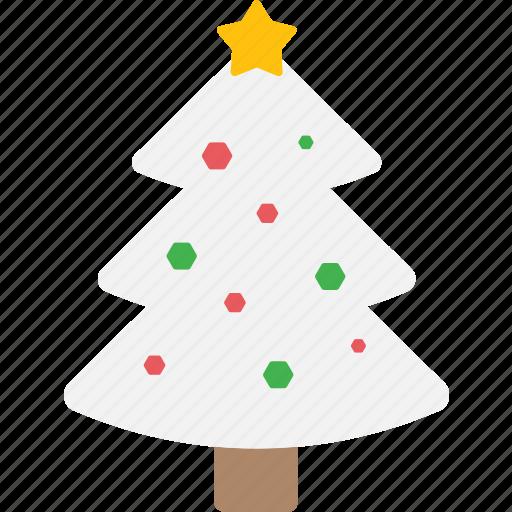 christmas, decoration, tree, winter, xmas icon