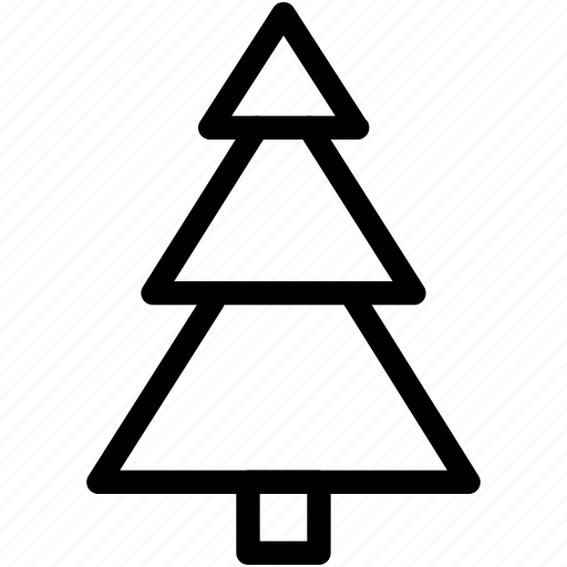 christmas, christmas-tree, creative, decoration, grid, line, shape, snow, tree, winter, xmas icon
