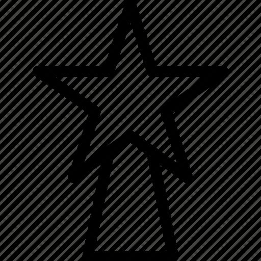 christmas, creative, decoration, favorite, grid, line, shape, star, xmas icon