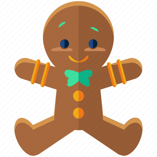 Christmas, cookie, food, gingerbread, holiday, man, season icon - Download on Iconfinder