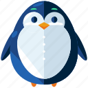 animal, christmas, holiday, penguin, season, snow, winter icon