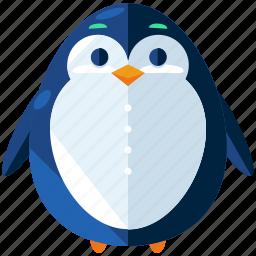 animal, christmas, holiday, penguin, season, snow, winter icon