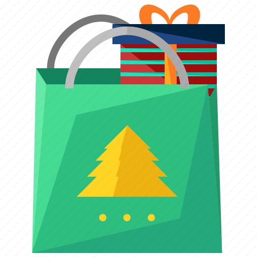 bag, christmas, gift, holiday, present, season, shopping icon