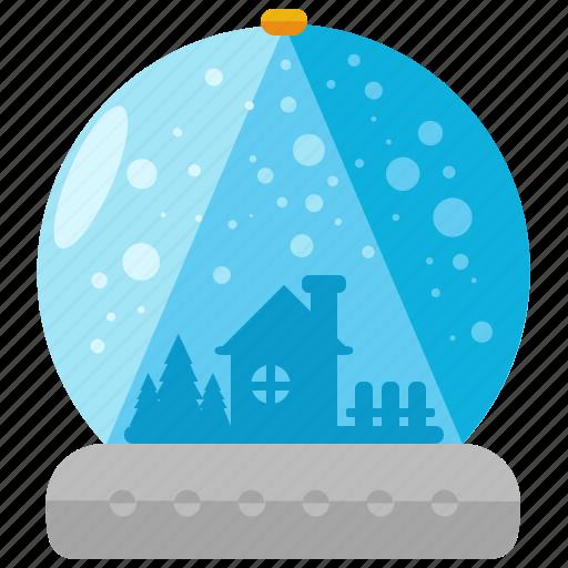 christmas, decor, decoration, globes, holiday, season, snow icon