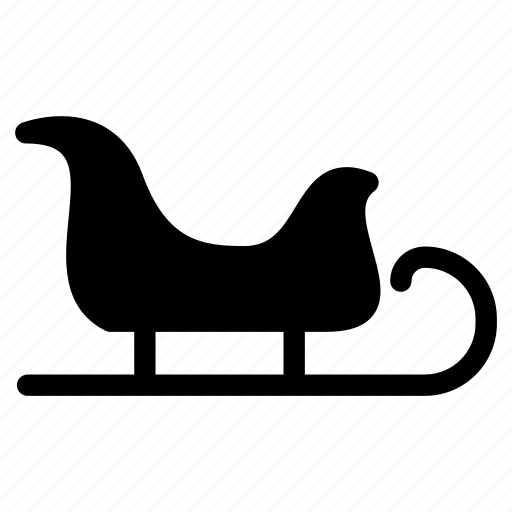 carrier, christmas, christmas-sleigh, creative, decoration, grid, santa-claus, shape, sleigh, transport, travel, vehicle, xmas icon