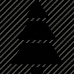 christmas, christmas-tree, creative, decoration, grid, shape, snow, tree, winter, xmas icon