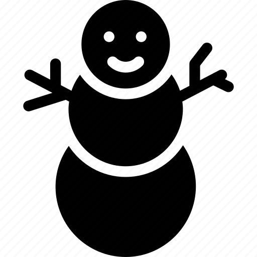 avatar, christmas, creative, decoration, grid, man, play, shape, snow, snowman, winter icon