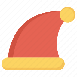 christmas, cold, decoration, hat, ornament, winter icon
