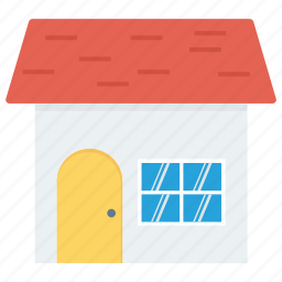 apartment, building, construction, home, house, property icon, snow icon