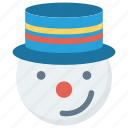 christmas, hat, snow, snowman, winter, xmas icon