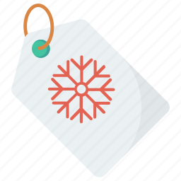 discount, label, price, sale, scribble, snowflake, tag icon icon