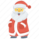 christmas, claus, santa, xmas icon icon