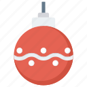 ball, christmas, decoration, xmas icon icon