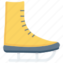 ice skating shoes, shoes, skating, skating shoes, sports icon, • ice skating icon