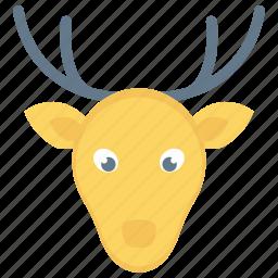 christmas, decoration, reindeer, xmas icon icon