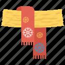 fashion, scarf, stole, winter icon