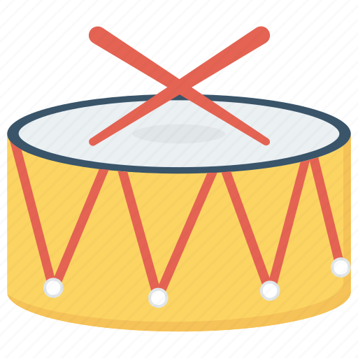 drum, instrument, music, musical icon icon