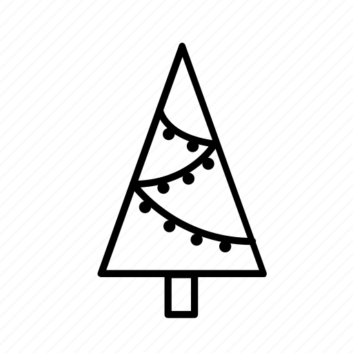 christmas, christmas tree, decoration, festiveseason, holidays, winter icon