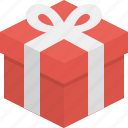 christmas, gift, price icon
