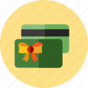card, christmas, gift icon
