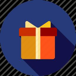 christmas, gift, price icon