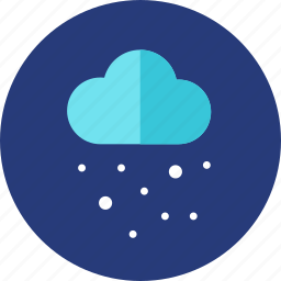 christmas, cloud, snow, snowing icon