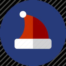 christmas, hat, winter icon