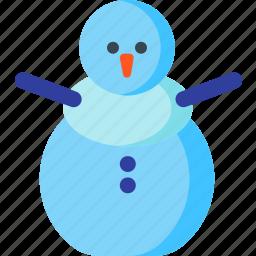 christmas, decoration, snow, snowman, winter, xmas icon