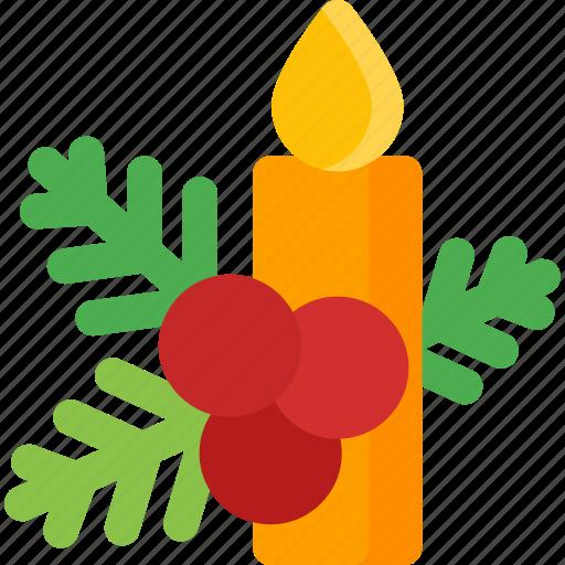 candle, celebration, christmas, decoration, holiday, xmas icon