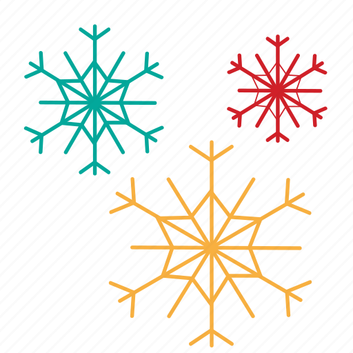 christmas, forecast, snow, snowflake icon