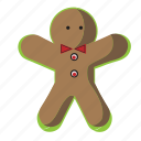 biscuit, christmas, cookie, gingerbread icon
