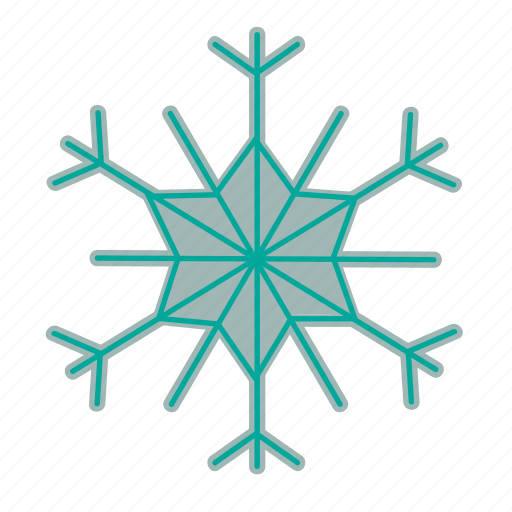 christmas, cold, forecast, snow, snowflake icon