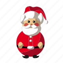 christmas, holyday, santa, santa claus icon