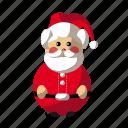 christmas, holyday, santa, santa claus icon